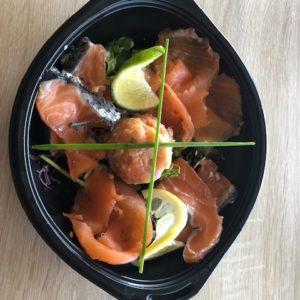 Trio de saumon