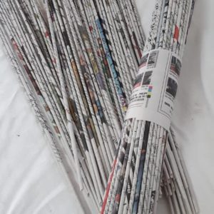 tubes en papier journal (les 100)