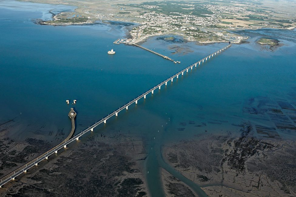 Le pont vu du ciel